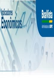 Indicadores Econômicos Boa Vista Serviços  31/07/2015