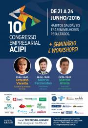 CONVITE | 10º Congresso Empresarial da ACIPI