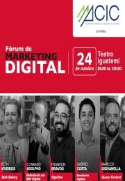 MKT.Digital -  4ª Semana de Negócios e Empreendedorismo, evento realizado pela ACI Campinas apoio Institucional  ACIC Ca
