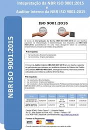 Curso Interpretação da Norma NBR ISO 9001:2015 - Senai Rafard
