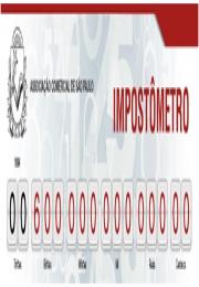 Impostômetro registra R$ 600 bilhões nesta quinta-feira às 20h30