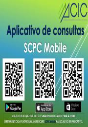 Aplicativo para  consultas SCPC Mobile
