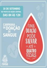 Terceira Campanha de Doação de Sangue