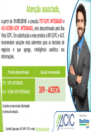 Descontinuação de produtos da Boa Vista SCPC (757 e 433)