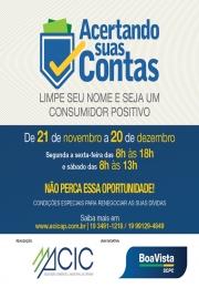 Boa Vista SCPC realiza campanha para limpar o nome em mais de 60 cidades do país