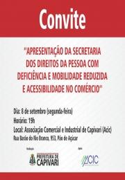 Convite Prefeitura Municipal de Capivari