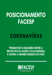 Posicionamento Facesp: coronavírus