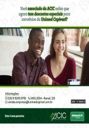 Nova parceria ACIC e UNIMED Capivari