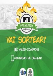 IPTU premiado Capivari