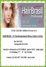 Missão Hair Brasil 14ª Feira Internacional de Beleza