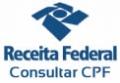 Consulta pública do CPF